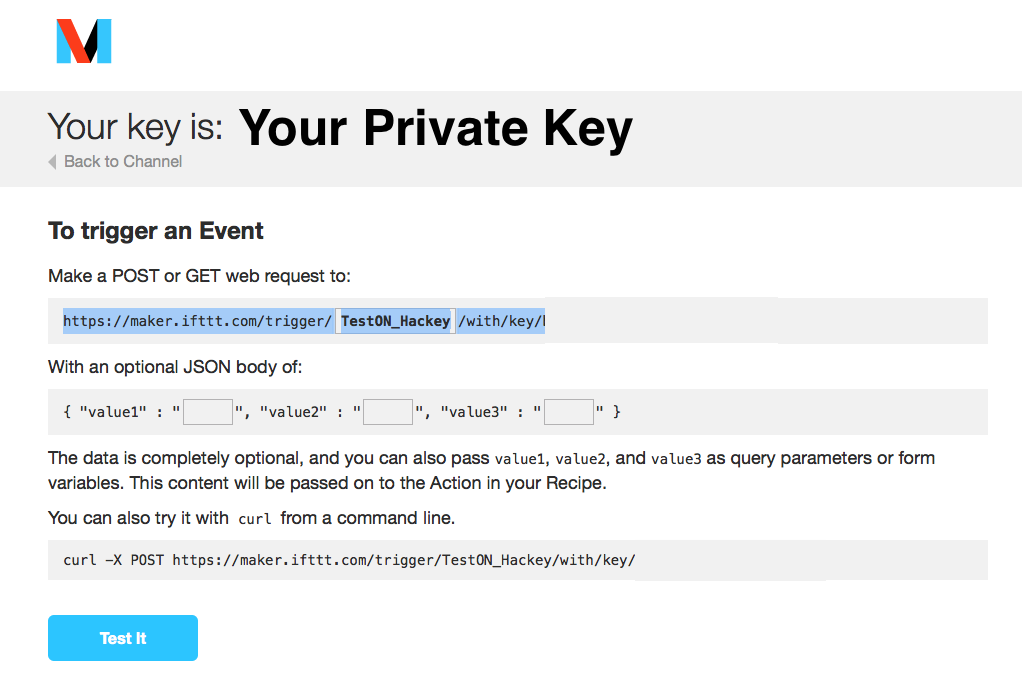 5  Create a Webhook Action   Hackey Online Manual